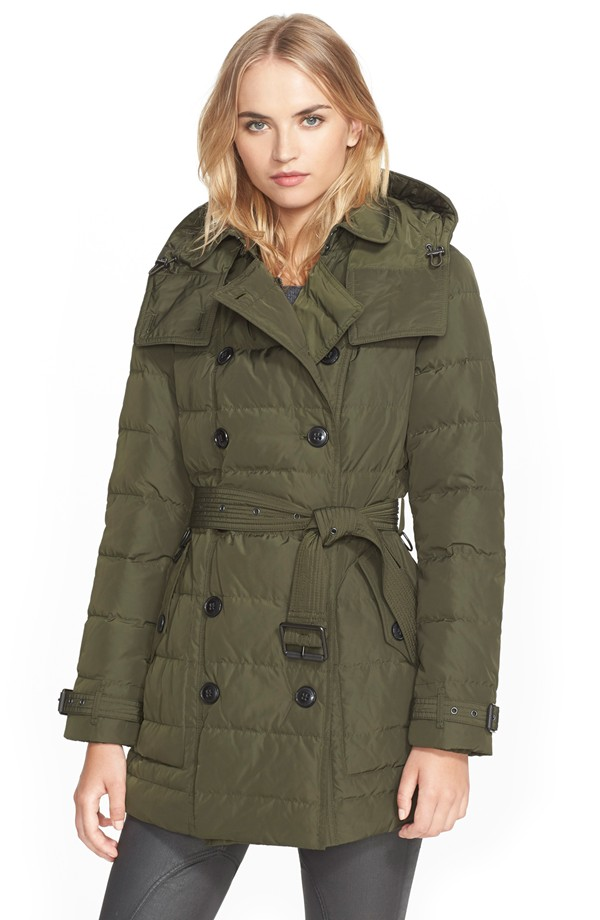 Burberry Brit Quilted Down Coat