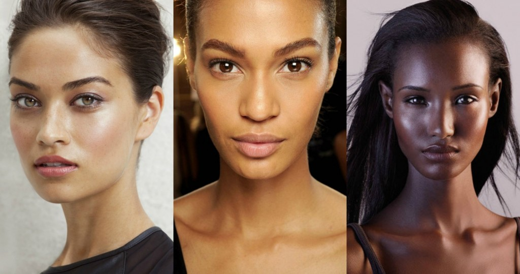 International models Shanina Shaik, Joan Smalls and Fatima Siad show this 2016 trend effortlessly.