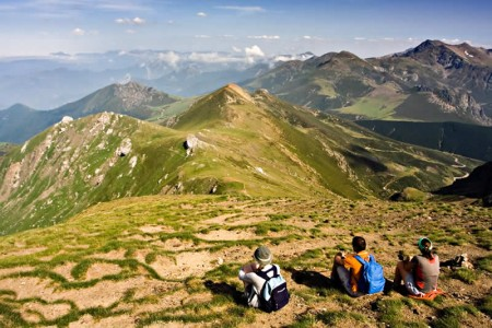 Cantabria's stunning mountain tops are one reason why it's known as Green Spain.